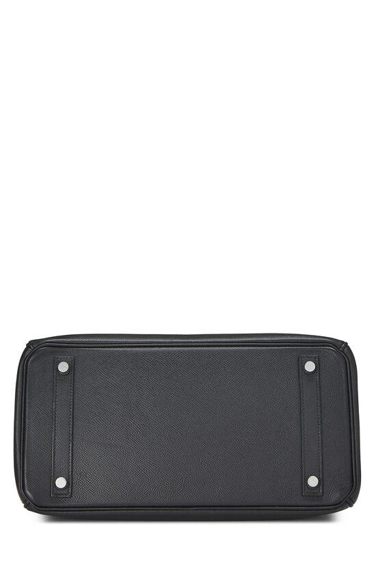 Black Epsom Birkin 30, , large image number 4