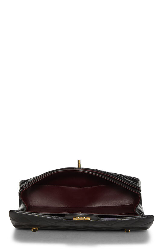 Black Quilted Lambskin Classic Double Flap Medium, , large image number 5