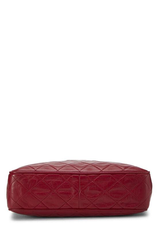 Red Quilted Lambskin Pocket Camera Bag Medium, , large image number 5