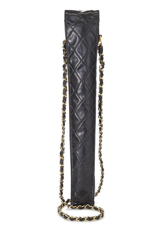 Black Patent Leather Umbrella Carrier, , large image number 2