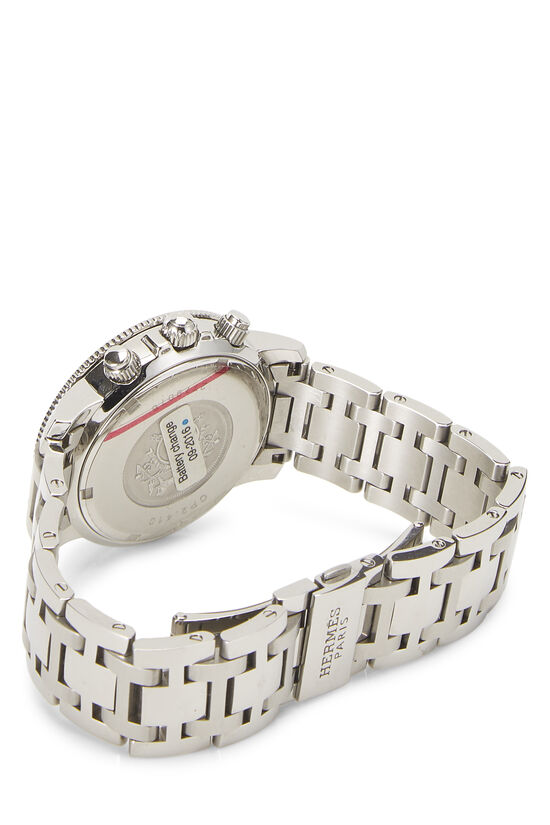 White & Stainless Steel Clipper Diver, , large image number 1