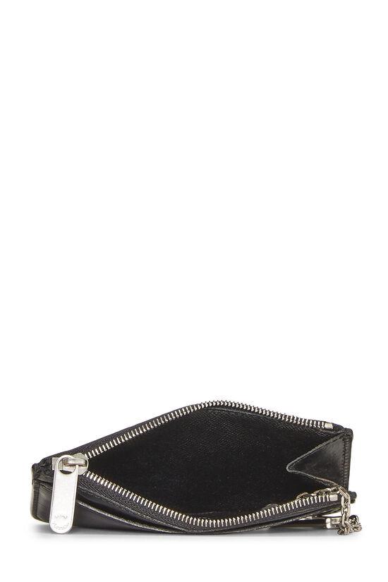 Black Epi Pochette Clefs, , large image number 3