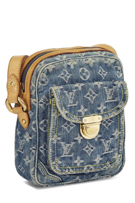 Blue Monogram Denim Camera Bag, , large image number 2