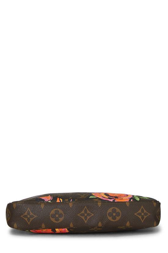 Stephen Sprouse x Louis Vuitton Monogram Roses Pochette Accessoires, , large image number 4