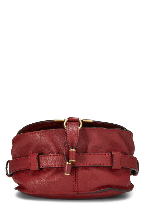 Red Leather Marcie Crossbody Mini, , large image number 4