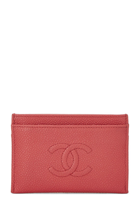 Red Caviar 'CC' Card Holder, , large image number 0