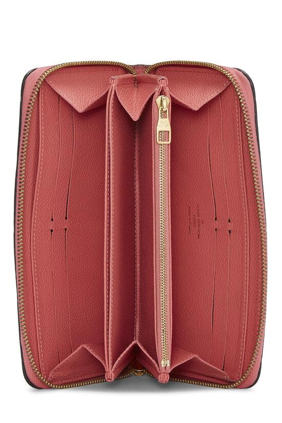 Pink Empreinte Zippy Continental Wallet, , large image number 3
