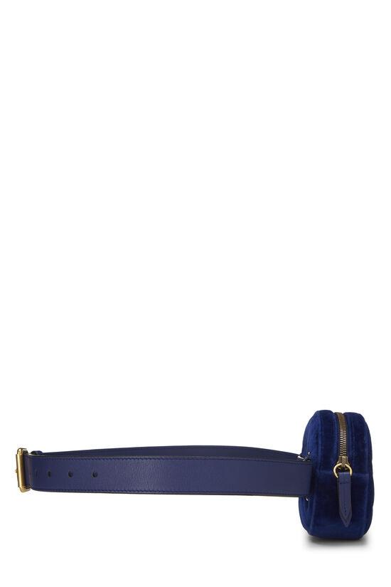 Blue Velvet Marmont Belt Bag Mini, , large image number 2