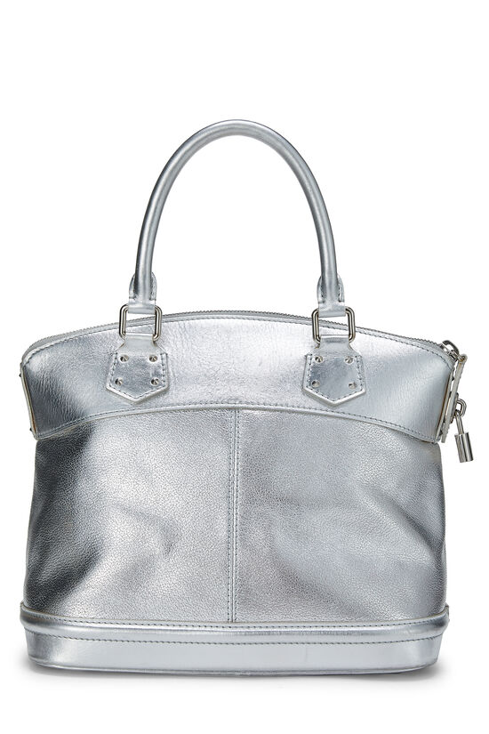 Silver Suhali Leather Lockit PM, , large image number 3