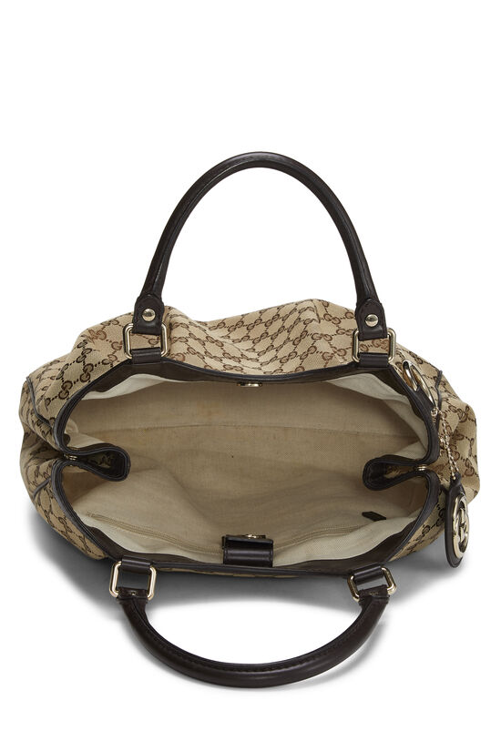 Original GG Canvas Sukey Tote, , large image number 5