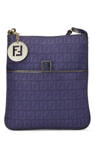 Blue Zucchino Canvas Crossbody Bag