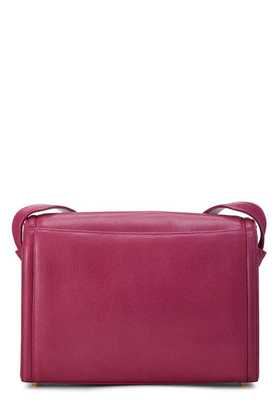 Pink Caviar 'CC' Messenger Bag, , large image number 4