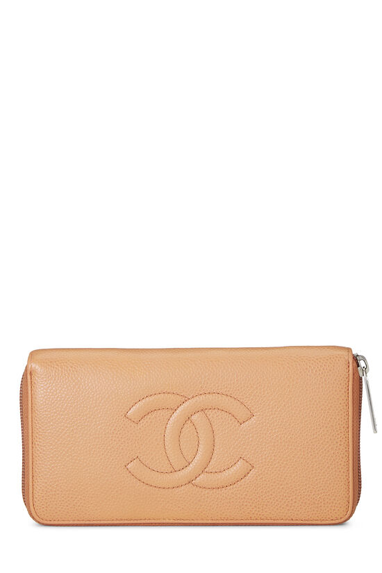 Peach Caviar Zippy Wallet, , large image number 0