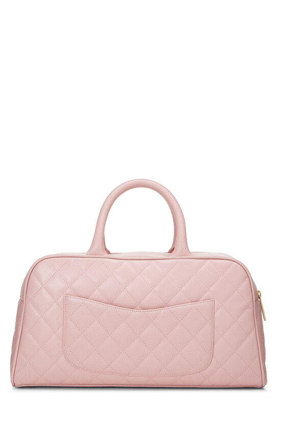 Pink Quilted Caviar Bowler Small, , large image number 3