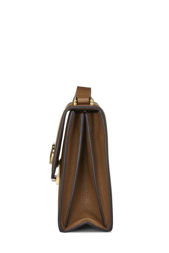 Brown Leather Zumi Shoulder Bag Small, , large image number 3
