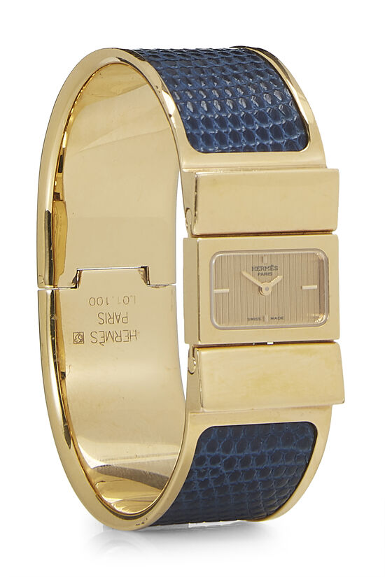 Navy Lizard Loquet Watch, , large image number 0