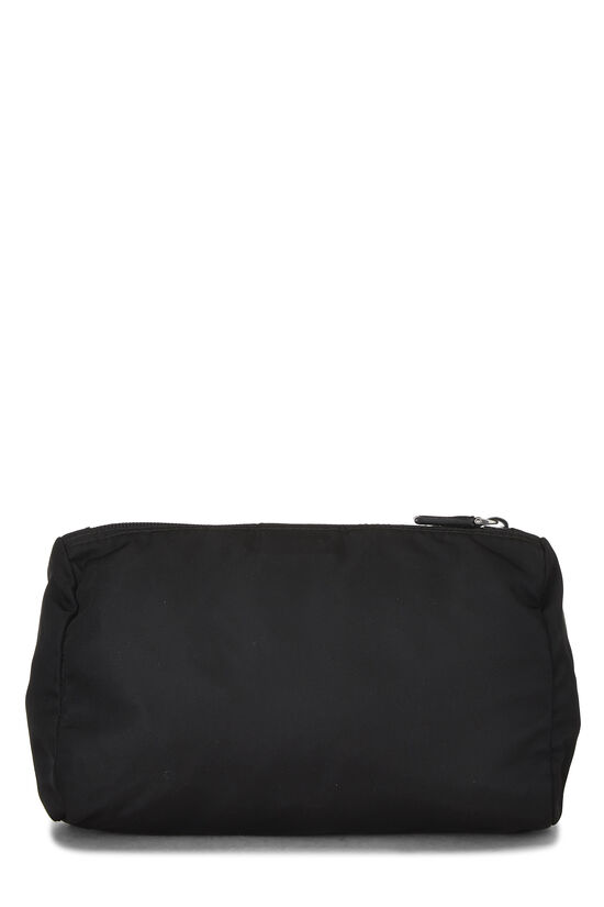 Black Nylon Zip Pouch, , large image number 2