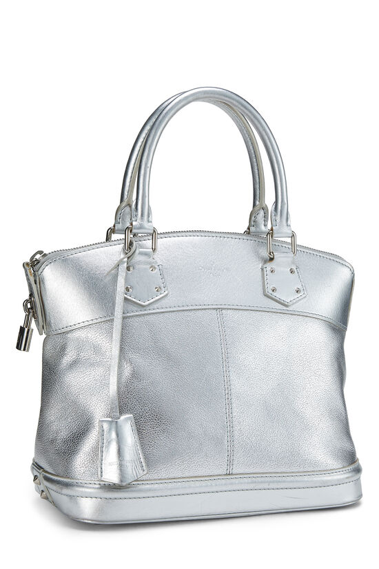 Silver Suhali Leather Lockit PM, , large image number 1