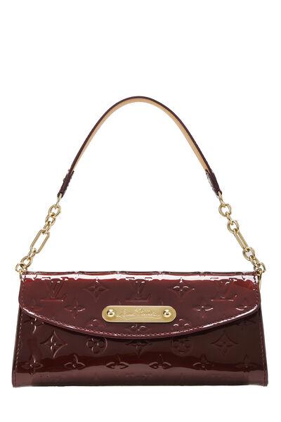 Rouge Fauviste Monogram Vernis Sunset Boulevard Shoulder Bag