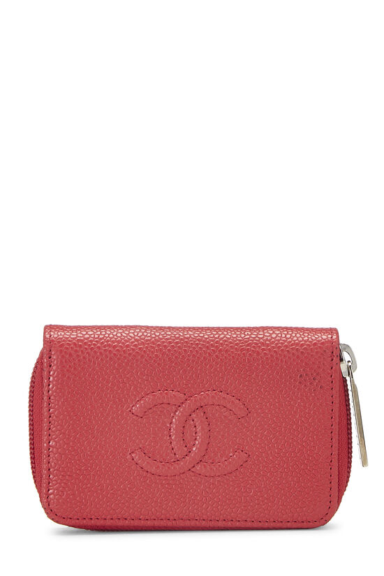 Red Caviar 'CC' Card Case, , large image number 0