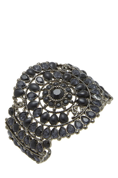 Gunmetal & Black Stone Cuff