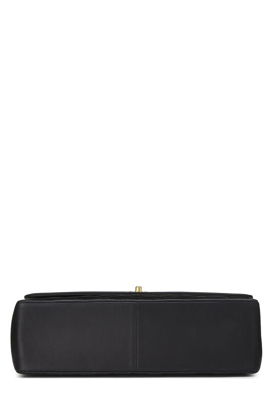 Black Quilted Lambskin 'CC' Flap Maxi, , large image number 4