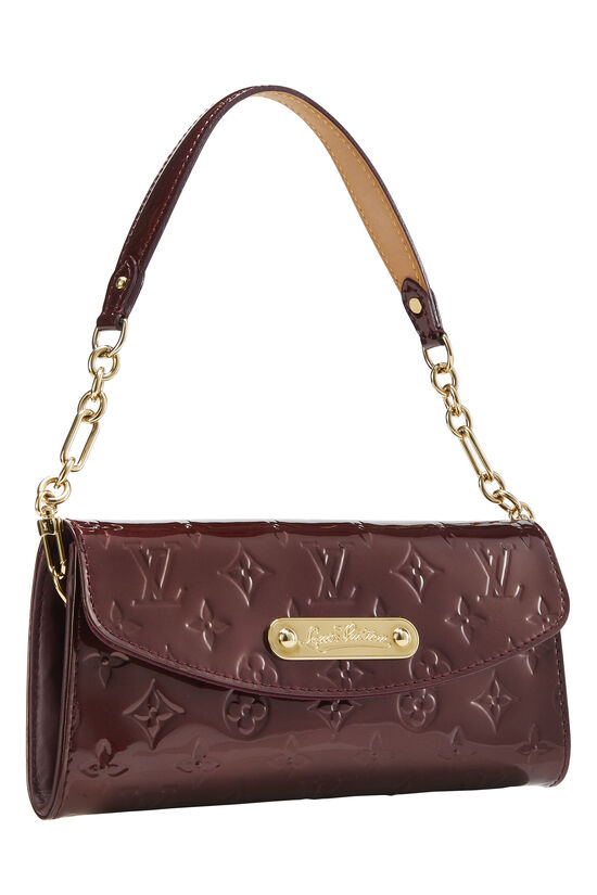 Rouge Fauviste Monogram Vernis Sunset Boulevard Shoulder Bag, , large image number 1
