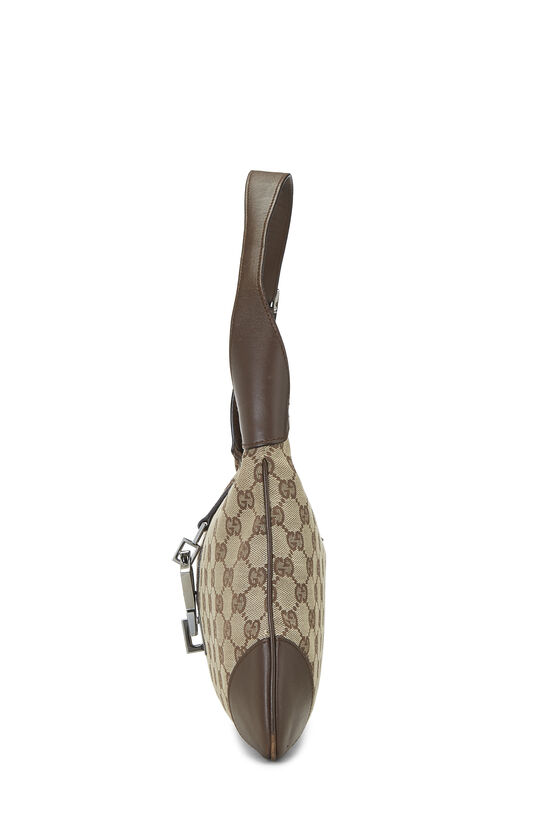 Original GG Canvas Jackie Hobo Small, , large image number 2