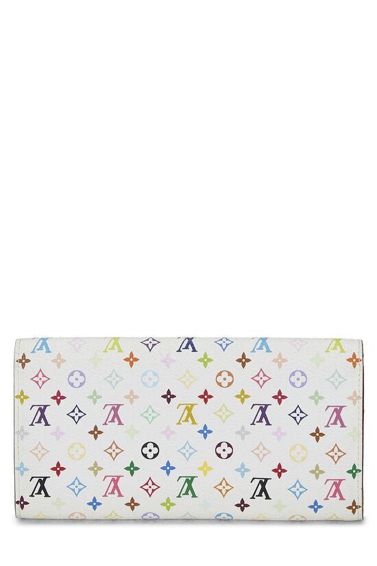 Takashi Murakami x Louis Vuitton White Monogram Multicolore Sarah, , large image number 2