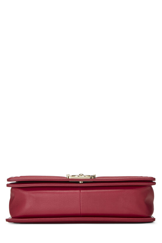 Pink Quilted Lambskin Boy Bag Medium, , large image number 5