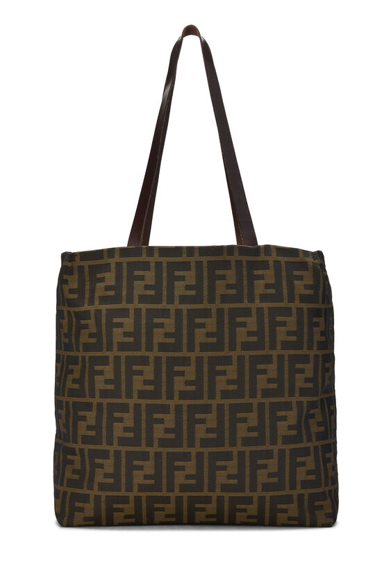 Brown Zucca Nylon Tote Small, , large image number 3