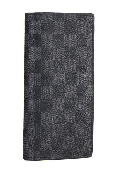 Damier Graphite Brazza Continental Wallet, , large