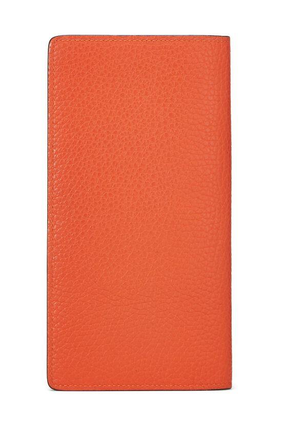 Orange Clemence Brazza Wallet, , large image number 2