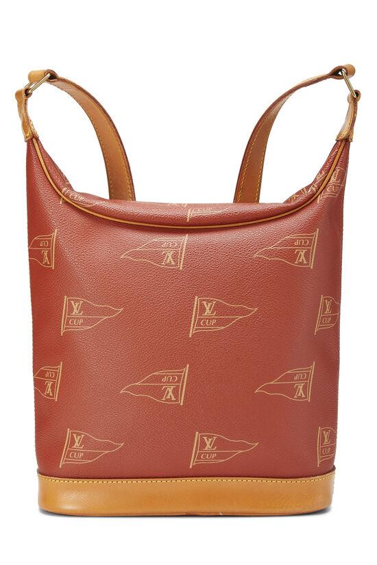 Red LV Cup Le Touquet Shoulder Bag, , large image number 4