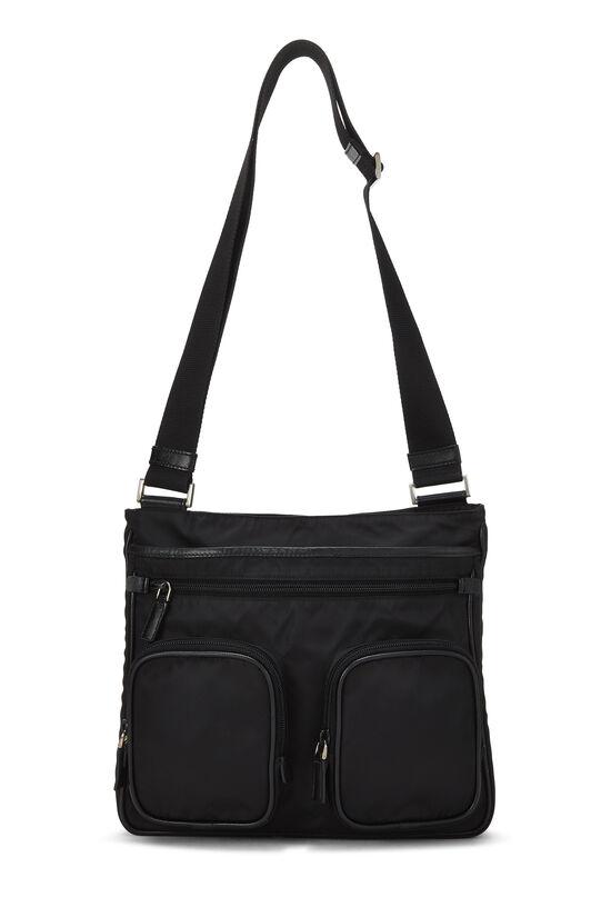 Black Tessuto Messenger Bag, , large image number 6