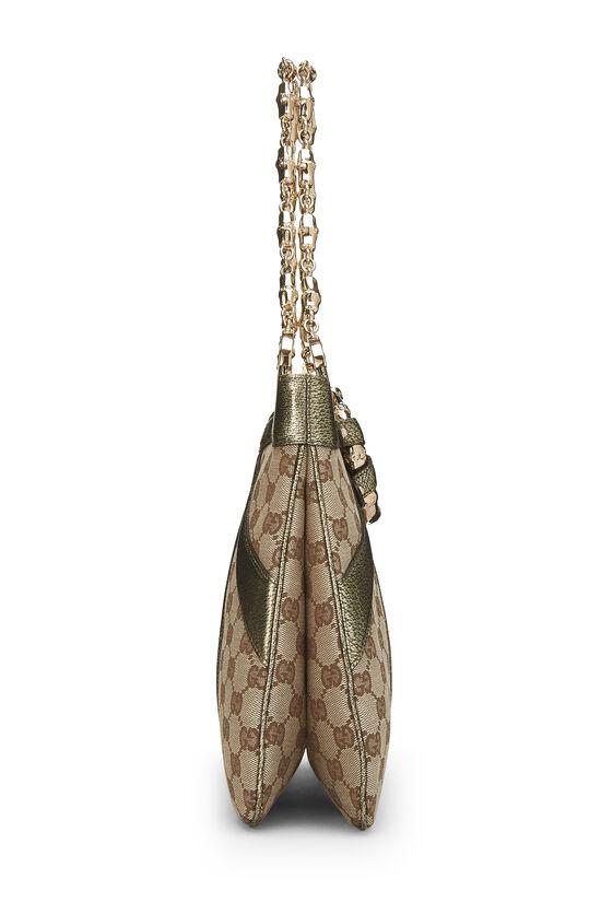 Original GG Canvas Dragon Shoulder Bag, , large image number 2