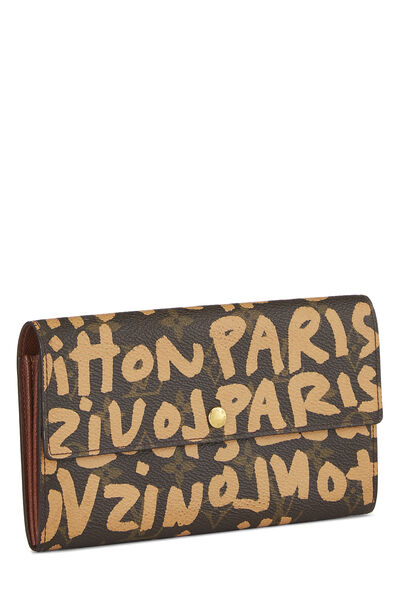 Stephen Sprouse x Louis Vuitton Beige Monogram Graffiti Sarah, , large