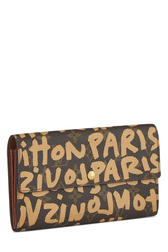 Stephen Sprouse x Louis Vuitton Beige Monogram Graffiti Sarah, , large image number 1