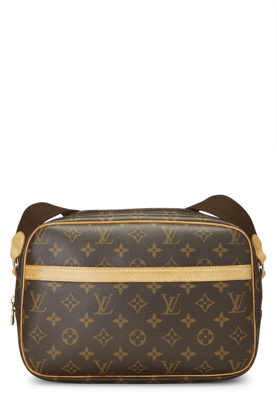 Monogram Canvas Reporter PM, , large image number 0