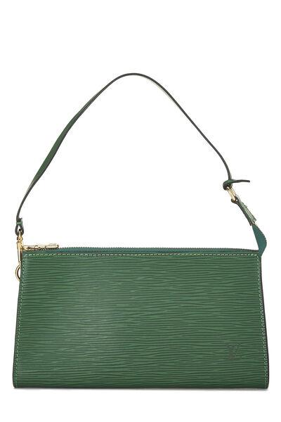 Borneo Green Epi Pochette Accessoires