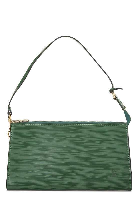Borneo Green Epi Pochette Accessoires, , large image number 0