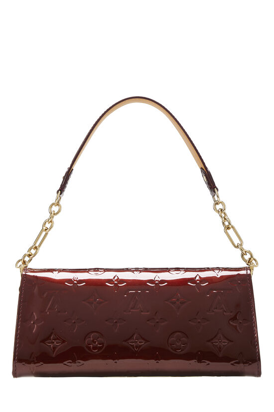 Rouge Fauviste Monogram Vernis Sunset Boulevard Shoulder Bag, , large image number 3