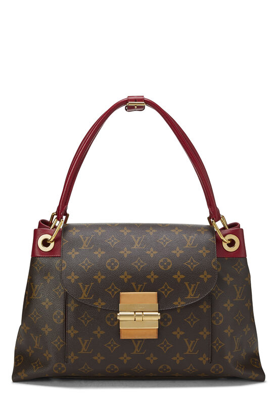 Red Monogram Canvas Olympe, , large image number 0