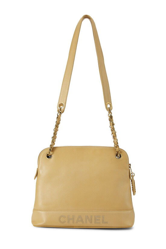 Beige Caviar Tote Small, , large image number 3