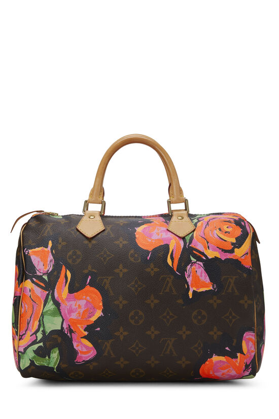 Stephen Sprouse x Louis Vuitton Monogram Roses Speedy 30, , large image number 3