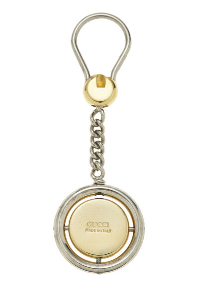 Silver Web Logo Keychain, , large
