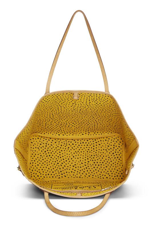 Yayoi Kusama x Louis Vuitton Yellow Monogram Dots Infinity Neverfull MM, , large image number 5