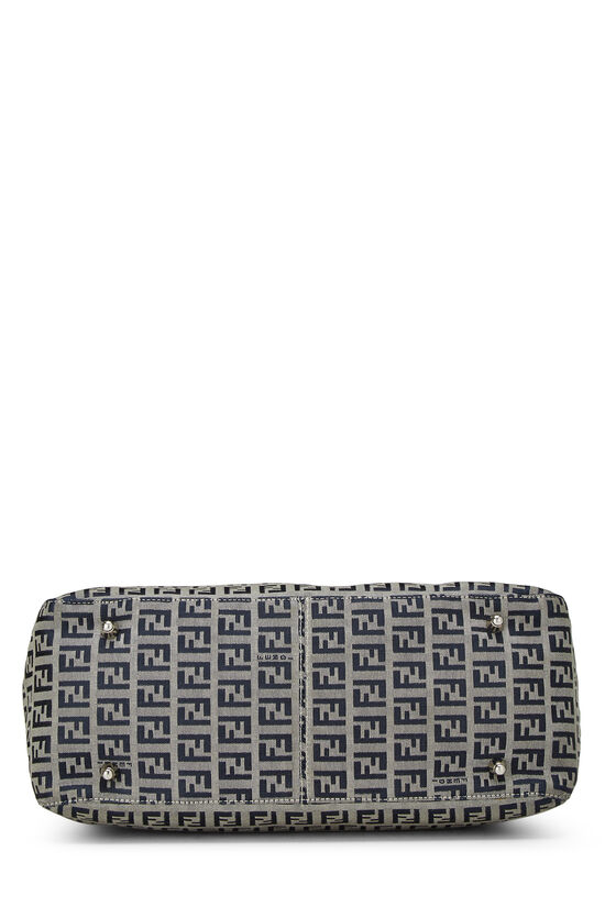 Navy Zucchino Canvas Handbag, , large image number 4