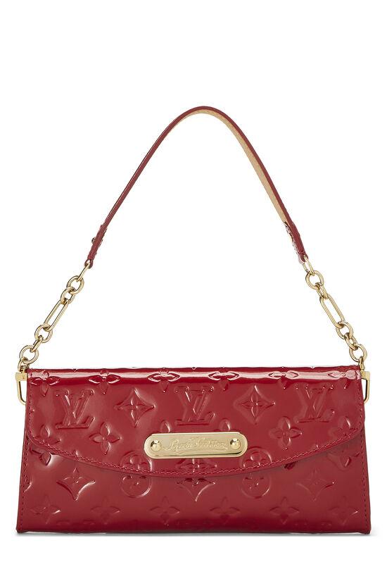 Cerise Monogram Vernis Sunset Boulevard Shoulder Bag, , large image number 0