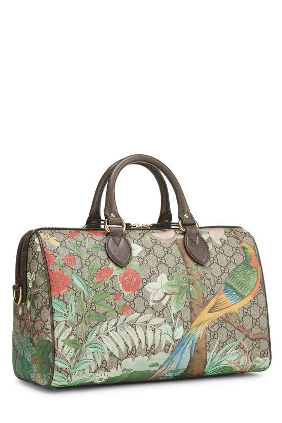 Original GG Supreme Canvas Tian Boston Bag, , large image number 2